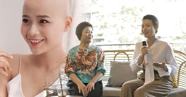 Mái tóc dần mọc trở lại của nữ sinh Ngoại Thương mắc ung thư: ''Nếu như không bị ung thư, mình sẽ thế nào?''