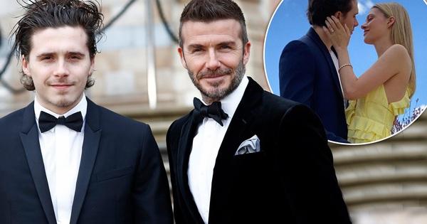David Beckham cuối cùng cũng chịu lên tiếng về đám cưới sắp tới của cậu quý tử Brooklyn, nhận ngay ''4 trái tim'' tới từ con dâu tương lai