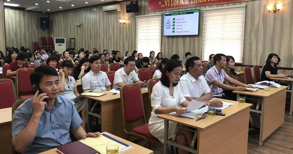 Hội nghị Hướng dẫn công tác tuyển sinh và triển khai kế hoạch hoạt động hè quận Hoàn Kiếm