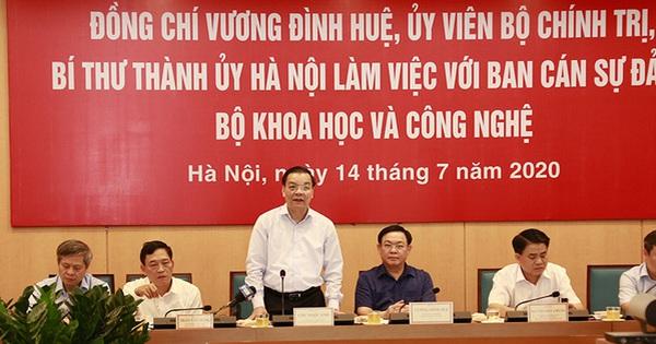 """Bộ trưởng Chu Ngọc Anh: Khu CNC Hòa Lạc là """"cái nôi"""" của các mô hình điểm"""