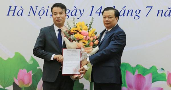 Trao quyết định bổ nhiệm Tổng Giám đốc BHXH Việt Nam