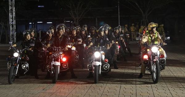 Công an TP Hồ Chí Minh ra quân tấn công trấn áp tội phạm