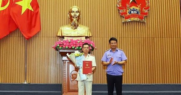 Trao quyết định bổ nhiệm chức vụ Thủ trưởng Cơ quan điều tra VKSND tối cao