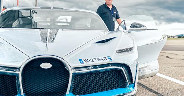 Kỳ công bàn giao siêu phẩm Bugatti Divo: Bọc 8 m2 phim bảo vệ, tái thử nghiệm hàng loạt trang bị
