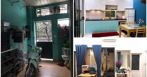 37 ngày cải tạo nhà cấp 4 ẩm thấp giữa Hà Nội thành căn nhà có đủ phòng tiện ích và sân vườn chỉ với chi phí 200 triệu