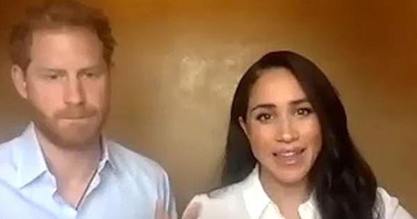 Vợ chồng Meghan Markle - Harry công khai xuất hiện, ''động chạm'' đến Nữ hoàng Anh với phát ngôn gây bức xúc