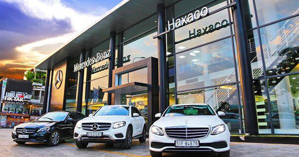 Phí trước bạ giảm 50%, Haxaco giảm giá xe Mercedes, khách hàng hưởng lợi kép