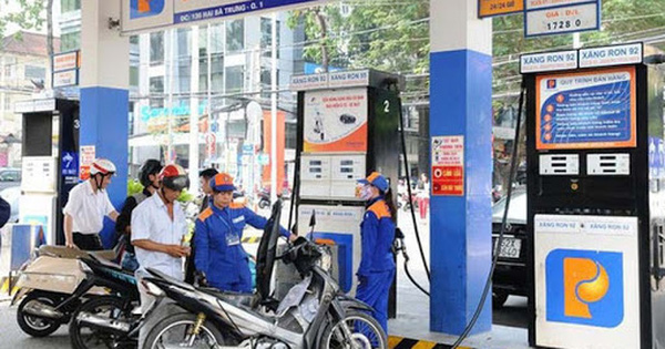 Điều chỉnh giá bán lẻ xăng dầu từ 15h chiều nay