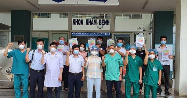 23 bệnh nhân mắc Covid-19 được công bố khỏi bệnh, trong đó có 4 bệnh nhân chạy thận nhân tạo