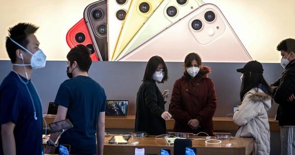Bất ngờ IPhone vuột mất vị trí đầu bảng người dùng tại Trung Quốc