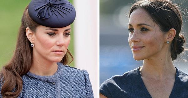 Công nương Kate đau lòng vì em dâu Meghan Markle sau một loạt câu chuyện không mấy tốt đẹp được tiết lộ trong cuốn sách
