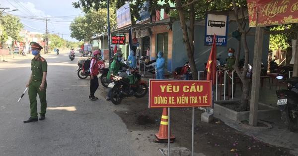 Lịch trình di chuyển 2 ca mắc Covid-19 công bố sáng 5/8 tại Quảng Nam