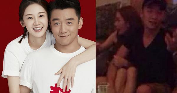 Vợ đang mang thai nhưng ''người tình Angelababy'' Trịnh Khải vẫn vui vẻ đi hộp đêm với 2 nữ ca sĩ trẻ?
