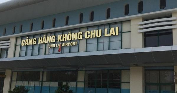 Giảm chuyến bay đi và đến sân bay Chu Lai