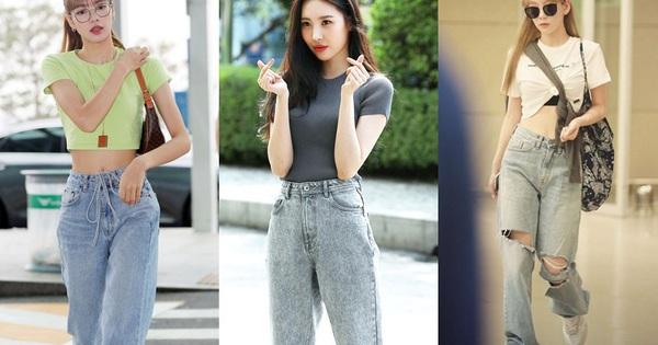Sao Hàn có đến 8 chiêu nâng tầm sang xịn cho quần baggy jeans, copy theo thì style của bạn cũng thăng điểm tức thì