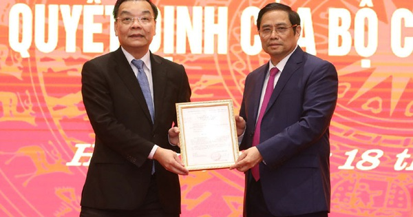 Bộ trưởng Bộ Khoa học & Công nghệ được phân công làm Phó Bí thư Thành uỷ Hà Nội