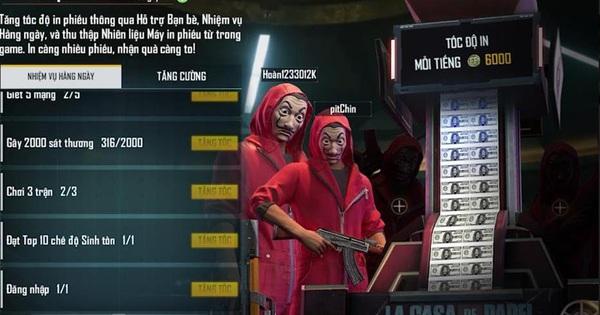 Free Fire và phi vụ ''Triệu Đô'': Màn hợp tác hoành tráng với Series phim Money Heist