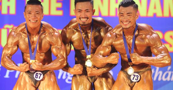 Trình diễn xuất sắc, VĐV Phan Bảo Long giành HCV 70 kg hệ A tại giải vô địch thể hình các CLB toàn quốc 2020