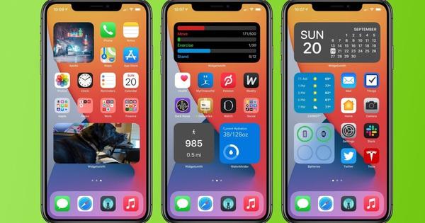 Mẹo hay tùy chỉnh widget tuyệt đẹp trên iOS 14