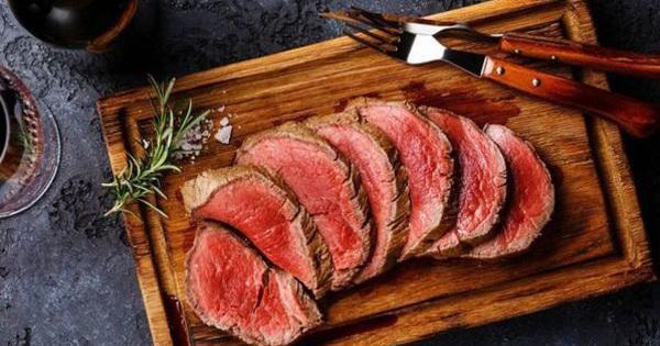 WHO phân loại thịt đỏ là 1 yếu tố nguy cơ gây bệnh...