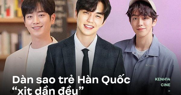 """5 nam thần trẻ xứ Hàn """"xịt dần đều"""" trên màn ảnh: Nam..."""