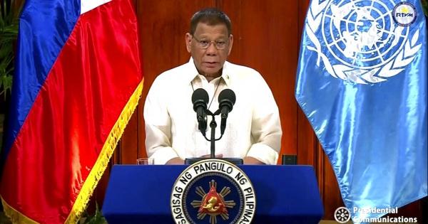 Tổng thống Duterte nêu phán quyết biển Đông trước Liên Hợp Quốc, thách thức trực diện Trung Quốc