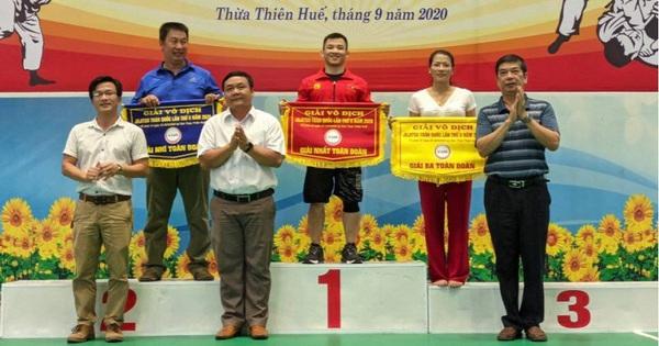 Hà Nội bảo vệ thành công ngôi vương giải vô địch Jujitsu toàn quốc