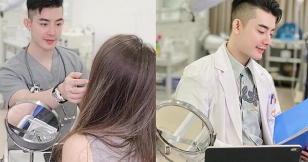 Bác sĩ hot boy có truyền thống gia đình 6 đời làm ngành y: ''Nhiều đêm thức trắng để chữa những ca làm đẹp bị lỗi''