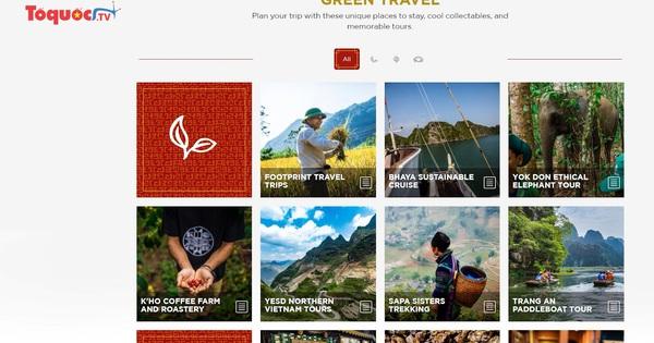 """Tổng cục Du lịch ra mắt trang """"Green Travel"""" quảng bá du lịch bền vững tới khách quốc tế - ảnhchụplén"""