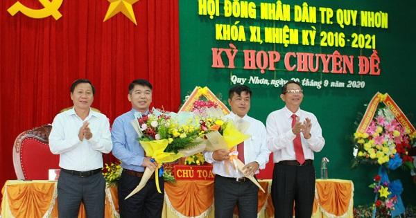 Thành phố Quy Nhơn bầu bổ sung 2 Phó Chủ tịch