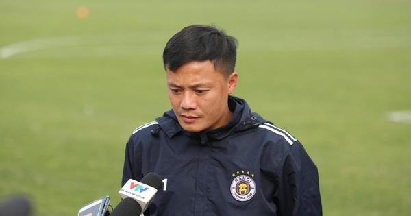 """Tiền vệ Thành Lương: """"Kinh nghiệm của HLV Phan Thanh Hùng sẽ là bất lợi với Hà Nội FC"""""""