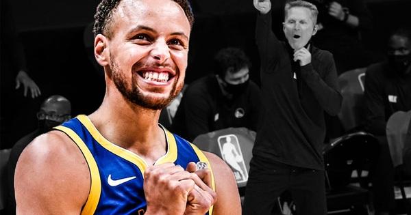 HLV trưởng Golden State Warriors lên tiếng cảnh báo ngôi sao Stephen Curry