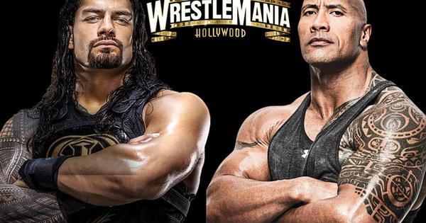 Roman Reign hứng thú với kịch bản chạm trán cùng The Rock tại WrestleMania