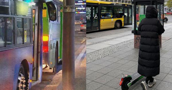 Diện áo phao dáng dài, cô gái Hàn Quốc tử vong thương tâm dưới bánh xe buýt vì vạt áo bị mắc kẹt
