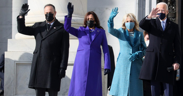 """Thời trang Mỹ """"lên ngôi"""" tại lễ nhậm chức, gợi nhớ tới """"kỷ nguyên"""" Obama"""