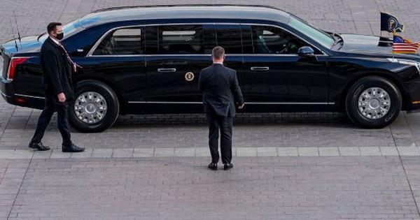 Joe Biden thay đổi chi tiết đầu tiên trên ''quái thú'' Cadillac