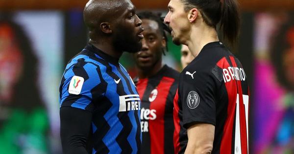"""Ibrahimovic và Lukaku """"khẩu chiến"""" dữ dội trong trận derby Milan"""