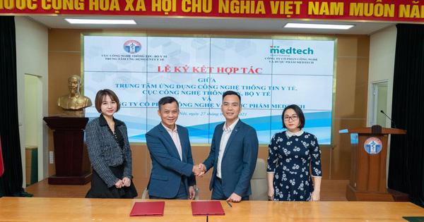 Bộ Y tế và MEDTECH ký kết hợp tác về ứng dụng công nghệ thông tin trong khám chữa bệnh