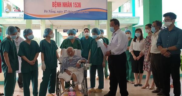Bệnh nhân Covid-19 nặng nhất đã xuất viện sau 9 lần xét nghiệm âm tính