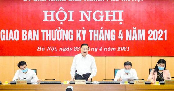 Chủ tịch Hà Nội: Thắt chặt công tác phòng dịch Covid-19, nâng mức cảnh báo nguy cơ lên mức độ cao