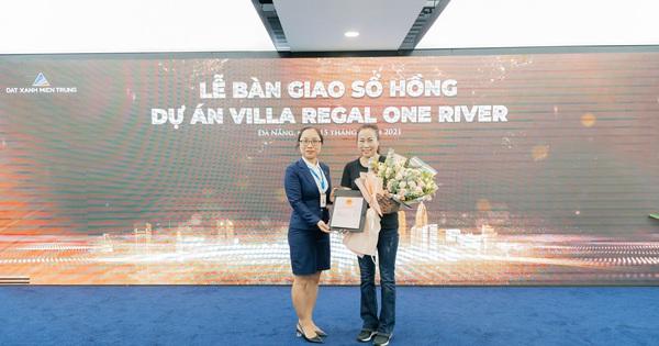 Đất Xanh Miền Trung đồng loạt trao sổ hồng Regal One River và sổ đỏ One World Regency đến khách hàng