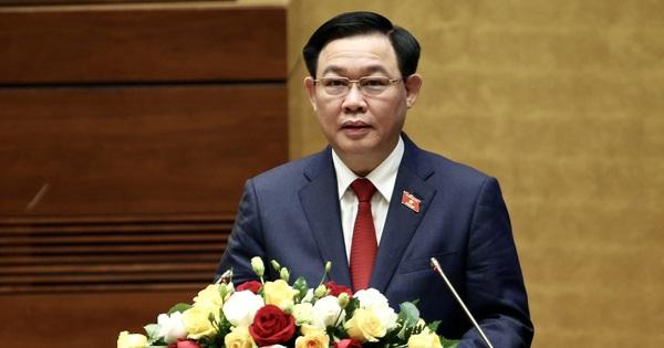 Chủ tịch Quốc hội Vương Đình Huệ: Mang theo ''hơi thở cuộc sống'' vào nghị trường trong từng nội dung Quốc hội xem xét, quyết định