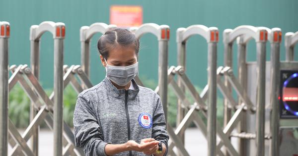 Trung tâm Huấn luyện thể thao Quốc gia Hà Nội thực hiện lệnh cấm trại, đảm bảo an toàn phòng, chống dịch