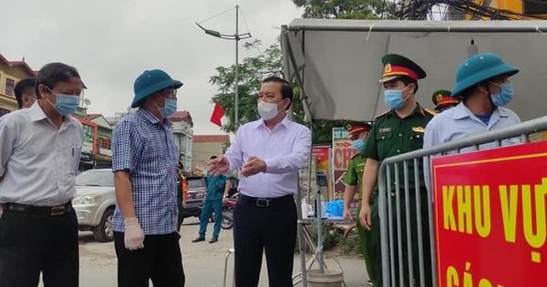 Khẩn trương xét nghiệm sàng lọc ở ổ dịch tại xã Tô Hiệu (Thường Tín), phải thực hiện đúng việc cách ly nhà với nhà, người với người