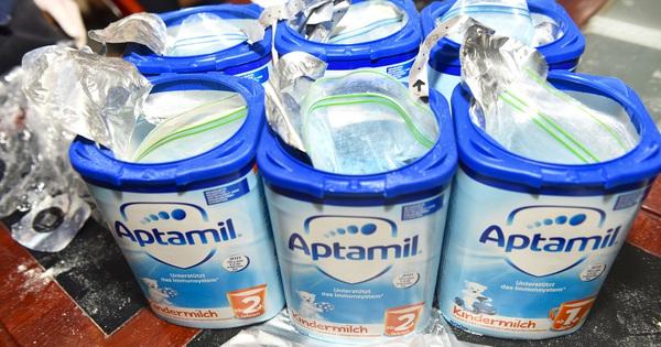 Thu giữ hàng tạ ma túy giấu trong sữa hộp, được vận chuyển qua đường hàng không về Việt Nam