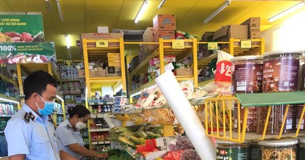 Kiểm tra, nắm bắt tình hình tại các siêu thị, cửa hàng tiện lợi, chợ truyền thống