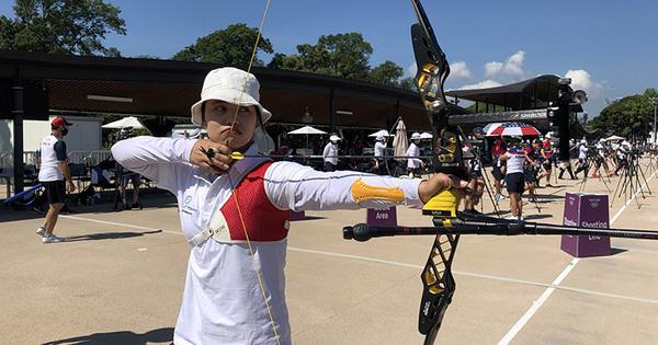 Cung thủ Ánh Nguyệt kết thúc vòng phân hạng ở vị trí 49