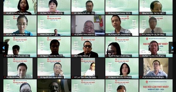Đại hội lần thứ nhất Hiệp hội phát triển nhân lực Logistic Việt Nam
