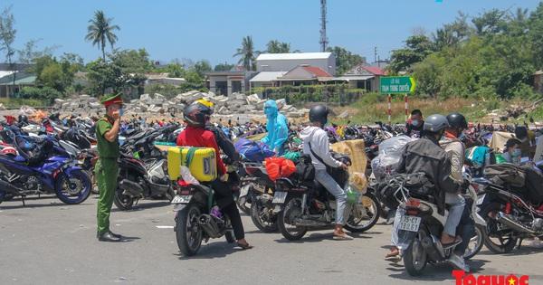 Thừa Thiên Huế ghi nhận 6 ca mắc COVID mới, nhiều ca bệnh trở về từ vùng dịch bằng xe máy
