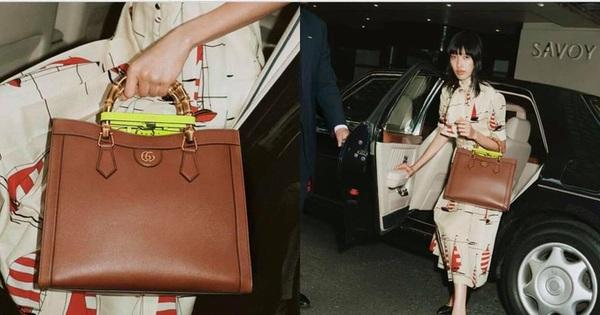 Bị loại khỏi Vietnam's Next Top Model, Phương Oanh giờ xuất hiện trên trang chủ của Gucci